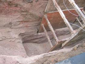 offener Kanalbau in Übertiefe bei Fels